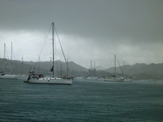 Squall over Prickly Bay, Grenada