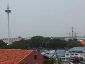 No harbour view due to haze