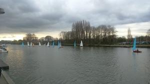 Sunday sailing at Minima YC