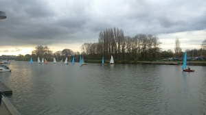 Sunday sailing at Minima YC
