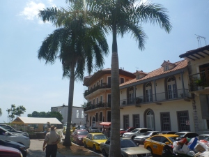 The old walled city of Panama