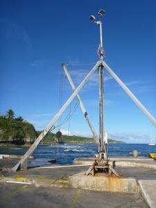 The boat hoist