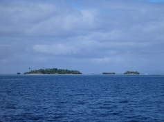 Islands of the appropraitely named Reef Point
