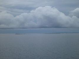 Amazing grey cloudscape