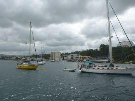 Port Vila harbour