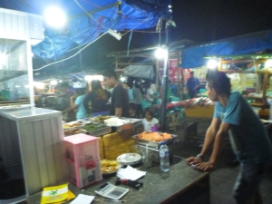 Street food for supper