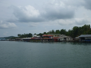 The fish restaurants of Tg. Pyaiu