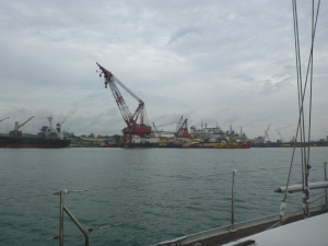 The shipyards of Batam